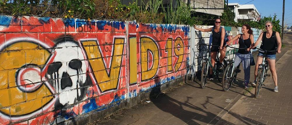 Contrain ondersteund Nederlands Covid19 team Suriname Stop COVID19